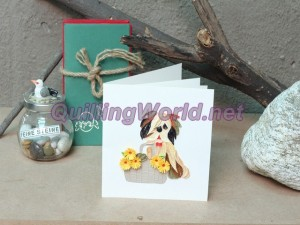 Flower Quilling Card