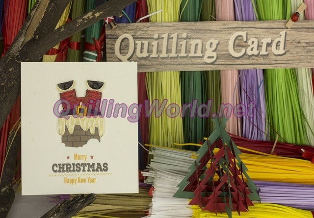 Christmas Quilling Card