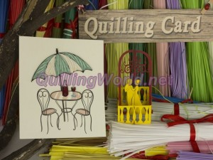 Dating Quilling Card