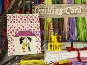 Love Quilling Card