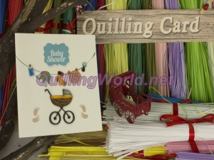 Baby Quilling Card