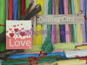 Heart Quilling Card