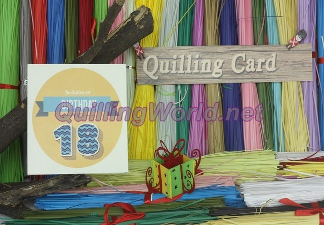 Birthday Quilling Card