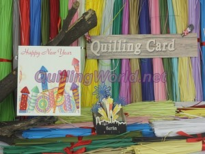 New Year Quilling Card